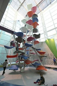 Climbable art